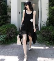 Sleeveless Dresses Dress-Black