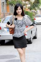 Stamp Collect Buttock Round Neck Dress