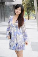 Fashion Chiffon Cross Dress