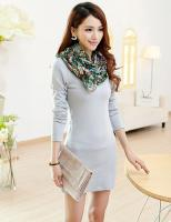 Base skirt Dress Fall and Winter Clothes